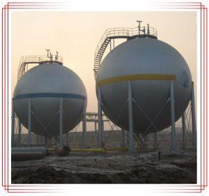 مخزن نگهدارنده گاز - GAS HOLDERS